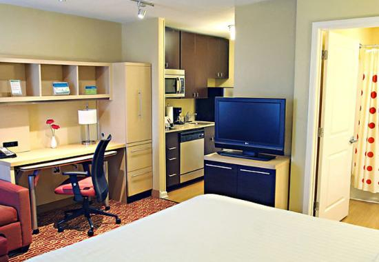 Huntington, Западная Вирджиния: King Suite – Home Office