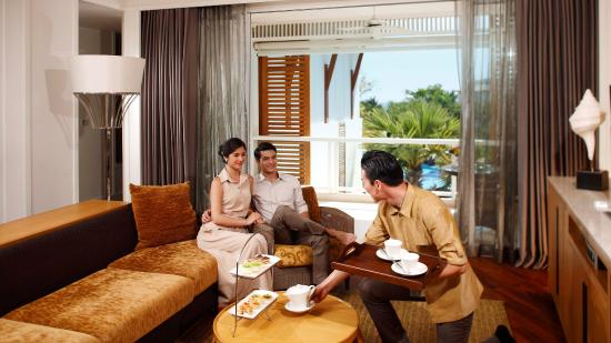 Intercontinental Hua Hin Resort: Club Floor Lounge