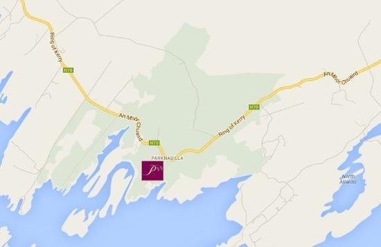Sneem, Irland: Map