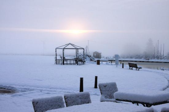 Gaufelden, Tyskland: Exterior View - Wintertime