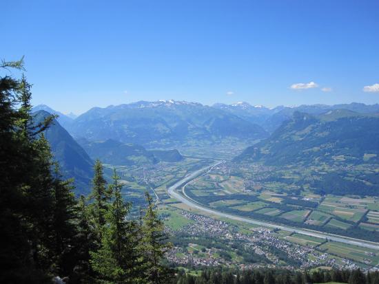 Triesen, Liechtenstein: Area image