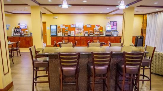 Palm Bay, Floryda: Breakfast Bar
