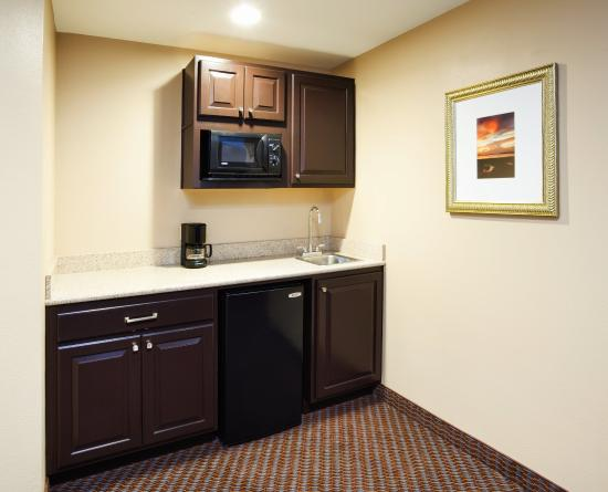 Holiday Inn Express Hotel & Suites Mt Pleasant-Charleston: Wet bar in King Suite