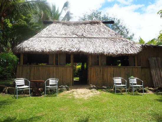 Beach Cocomo: The cafe/restaurant