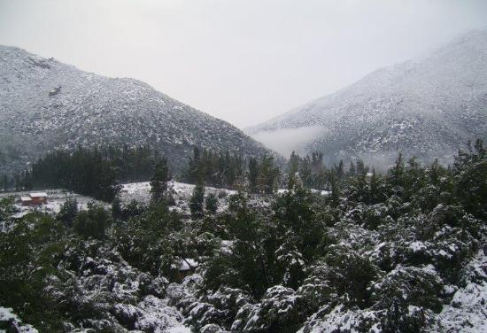 San Jose de Maipo, Chile: Panoramica Invernal