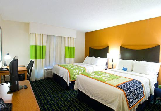 Westerville, Οχάιο: Queen/Queen Guest Room
