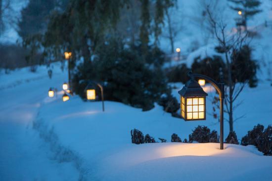 Fogelsville, เพนซิลเวเนีย: Glasbern UExterior Snow