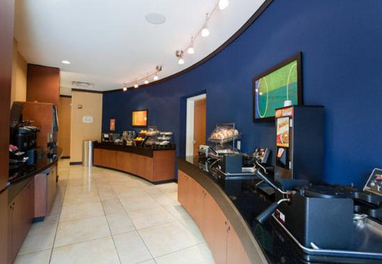 Fairfield Inn & Suites Houston Conroe: Breakfast Area