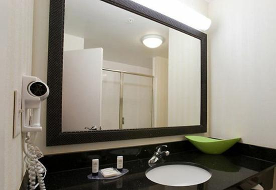 Fairfield Inn & Suites Houston Conroe: Suite Bathroom