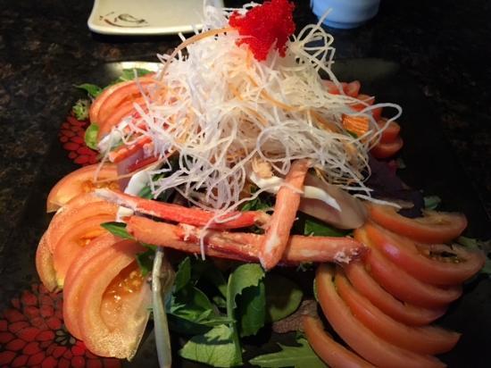 Surrey, Canadá: Seafood Salad