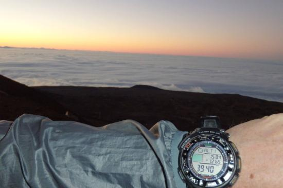 Mauna Kea Summit: Nearly 4km (13'000ft) above sea level.