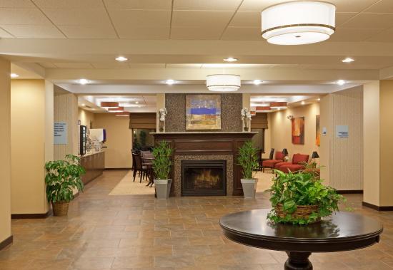 Malone, نيويورك: Hotel Lobby