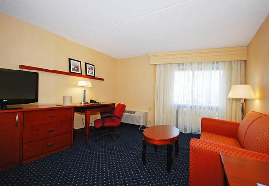 Revere, MA: King Suite Living Area