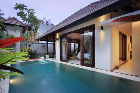 1br garden private pool villa picture of dedari for Garden pool villa ubud