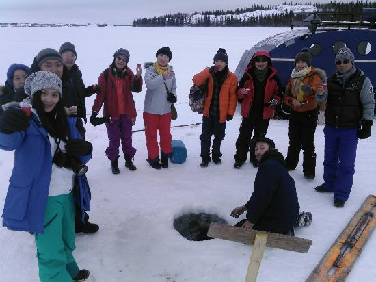 Hay River, Canada: Great slave lake tours.