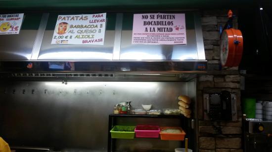 Pontevedra Province, Spanyol: Cocina vista