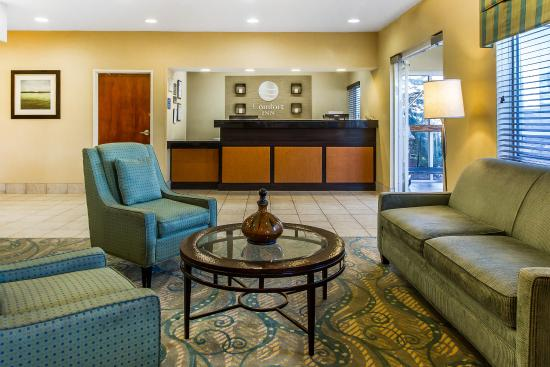 Comfort Inn Oklahoma City: Lobby