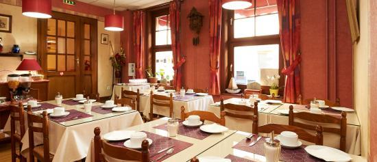 Hotel de l'Ill : le salon petit-déjeuner