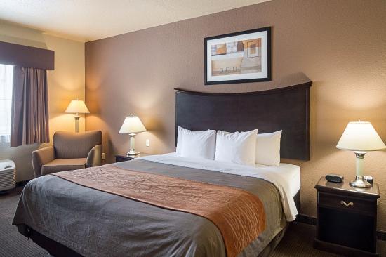 Stanton, Τέξας: King suite