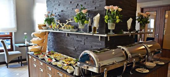 Gliwice, Polen: Breakfast Room