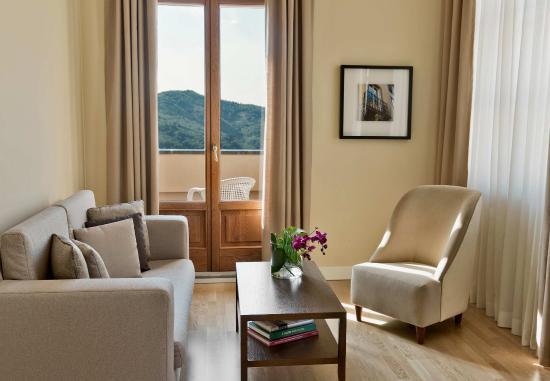 Castelvecchio Pascoli, Italie : Presidential Suite Living Area