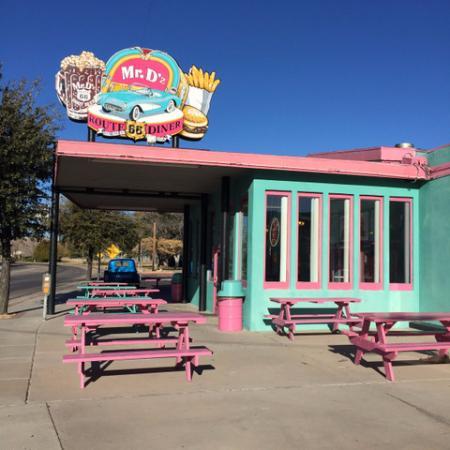 Mr D Z Route 66 Diner In Kingman