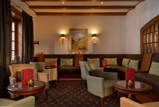 Hotel Mont Cervin Palace: Bar-Lounge
