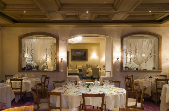 Hotel Mont Cervin Palace: Le Restaurant