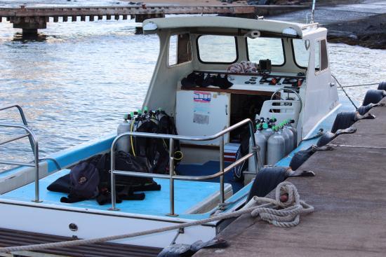 Koloa, Hawái: The little boat
