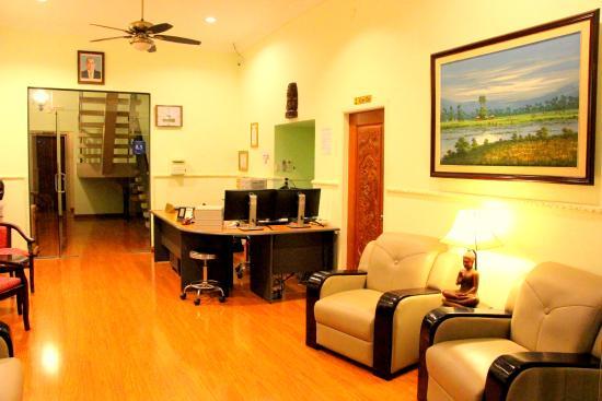 Manor House Boutique Hotel: Reception Area