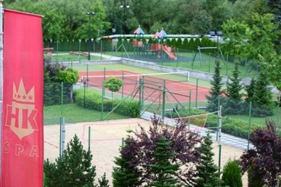 Muszyna, Polen: Recreation area