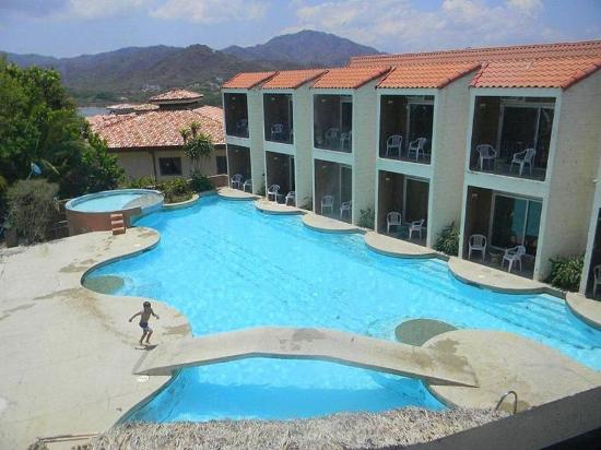 El Sabanero Beach Hotel: Property area