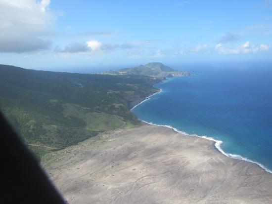 Soufriere Hills Volcano : Rückflug