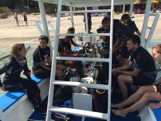 Gili Air, Indonesia: Départ pour les plongées