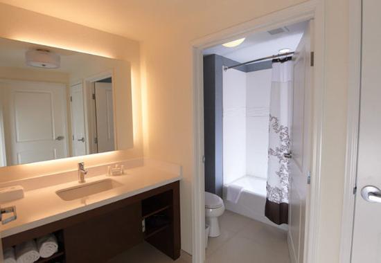 Williamsport, Pensilvania: Suite Bathroom