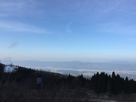 Ebino, Japan: 施設からの眺め。えびの市が一望できます