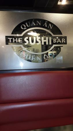 The Sushi Bar 2: The entrance logo