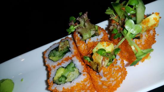 The Sushi Bar 2: A close up shot