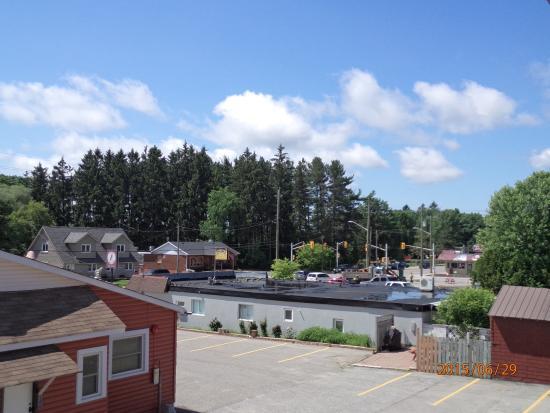 SilverStar Motel: Blick aus dem Fenster