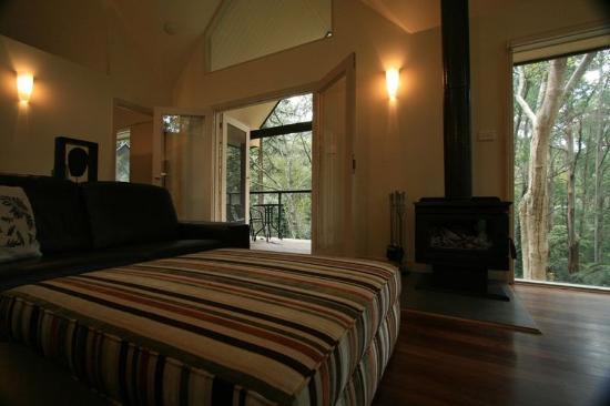 Olinda, ออสเตรเลีย: Treetops Guest House