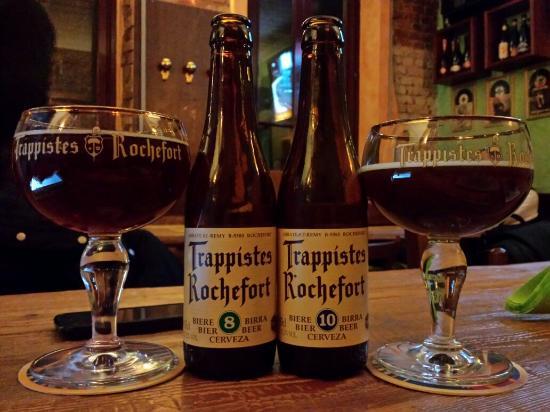 Casorate Sempione, Italia: Autentiche birre trappiste!