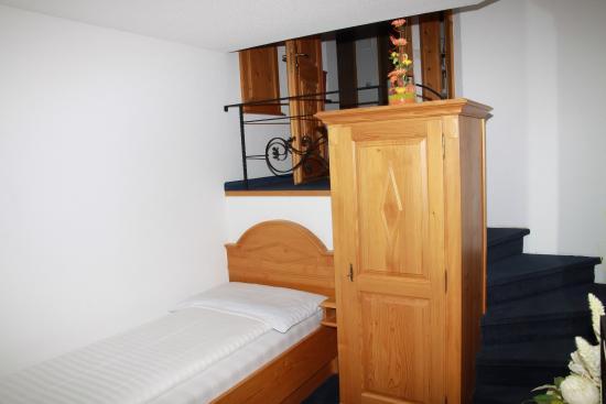 Täsch, Sveits: Single room