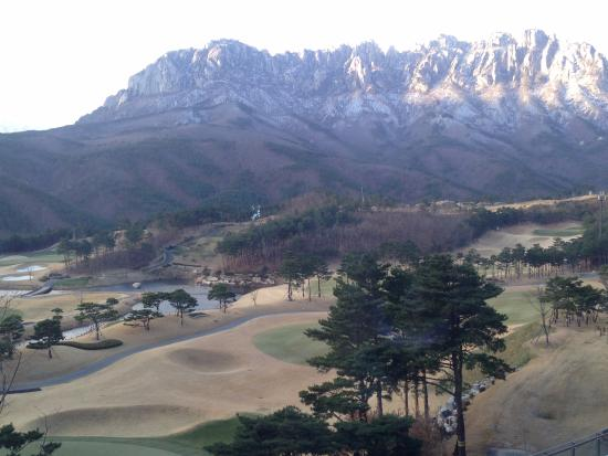 Goseong-gun, Corea del Sud: The Ranges