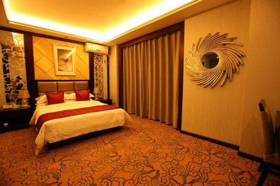 Yichang, China: Post modern Deluxe King Room