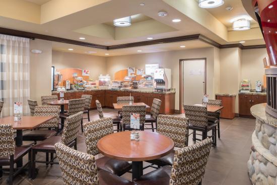 Klamath, Californie : Breakfast Bar
