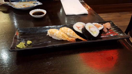 Caroline Springs, Australia: What is left of the Sushi platter