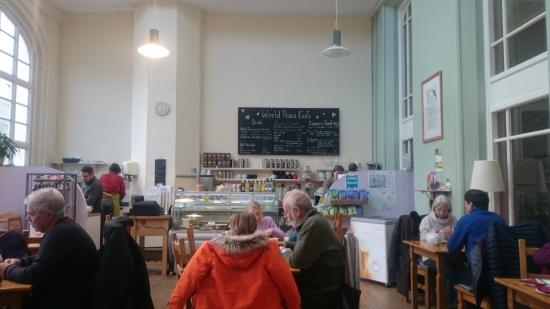 Cumbria, UK: Cafe