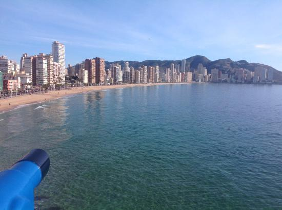 Presidente Hotel: The beach