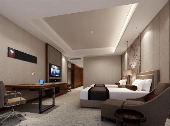 Wuhu, China: Deluxe  Twin Room
