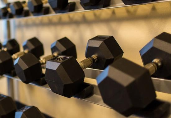 Lancaster, CA: Fitness Center - Free Weights